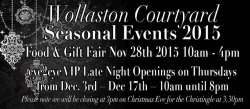 WOLLASTON COURTYARD FOOD AND GIFT FAIR logo