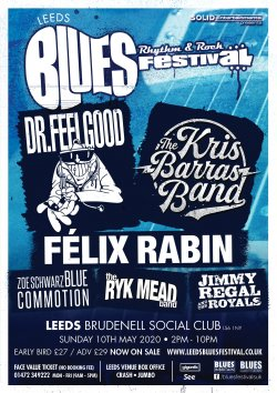 Leeds Blues Festival Logo