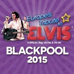 Europe's Tribute to Elvis festival Blackpool 2015 logo