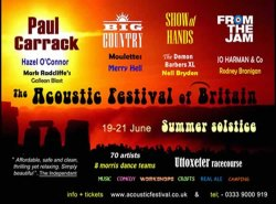 The Acoustic Festival of Britain 2015 logo