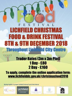 Lichfield Christmas Food And Drink Festival 2018 logo