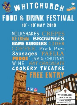 Whitchurch Food Festival  Logo