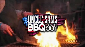 Uncle Sams BBQ Cookout Logo