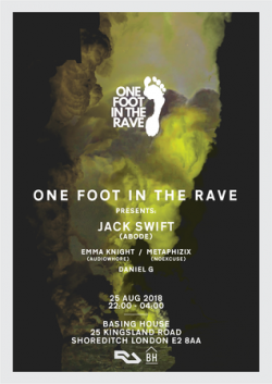One Foot In The Rave with Jack Swift Logo
