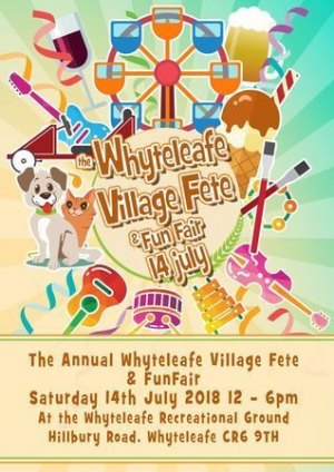 The Annual Whyteleafe Village Fete and Fun Fair logo