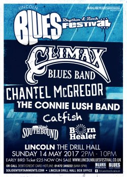 Lincoln Blues, Rhythm And Rock Festival 4  logo