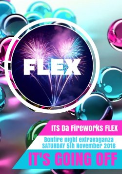 THE FIREWORKS FLEX FESTIVAL logo