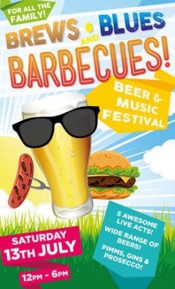 Brews, Blues and Barbecues 2019 Logo