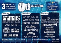 Looe Blues, Rhythm & Rock Festival Logo