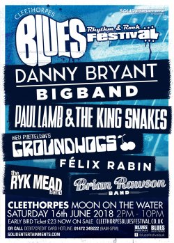 Cleethorpes Blues, Rhythm And Rock Festiva Logo