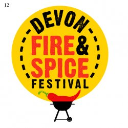 Devon Fire And Spice Festival logo