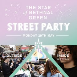 Star of Bethnal Green Party Street Party - East London Logo