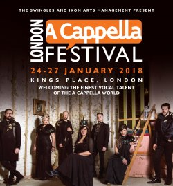 The London A Cappella Festival 2018 Logo