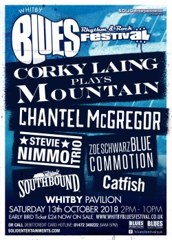 Whitby Blues, Rhythm And Rock Festival Logo