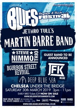 Chelsea Blues, Rhythm And Rock Festival Logo