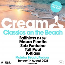 Cream Classics on the Beach logo