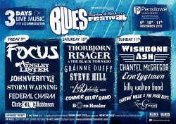 Bude Blues, Rhythm and Rock Festival  Logo
