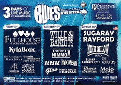 Bude Blues, Rhythm & Rock Festival Logo