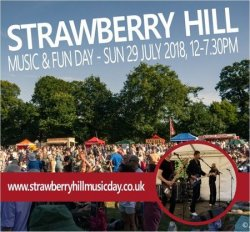 Strawberry Hill Music and Fun Day logo