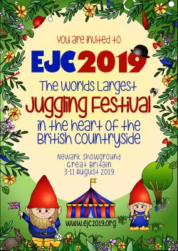 EJC 2019 - European Juggling Convention logo