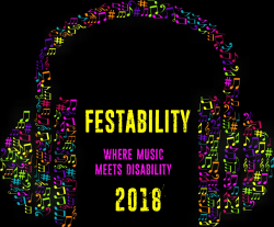 FESTABILITY 2018 where music meets disability Logo