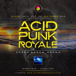 Acid Punk Royale 2019 Logo