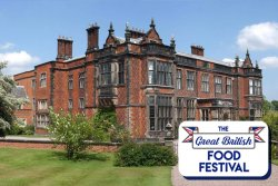 The Great British Food Festival at Arley Hall logo