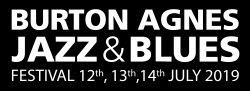 Burton Agnes Jazz and Blues Festival 2019 Logo
