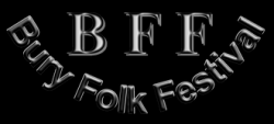 6th Bury Folk Festival logo