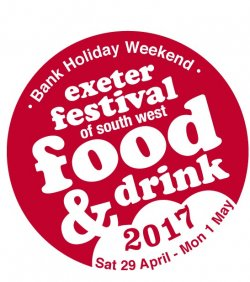 Exeter Festival of South West Food And Drink 2017 Logo