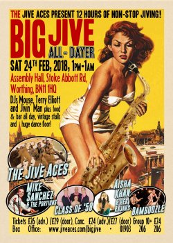 The Big Jive All-Dayer 2018 logo