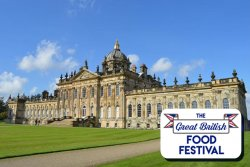 The Great British Food Festival at Castle Howard logo