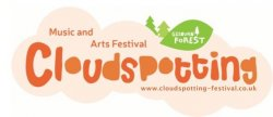 Cloudspotting Music And Arts Festival logo