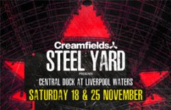 Creamfields Presents Steel Yard Liverpool – Martin Garrix logo