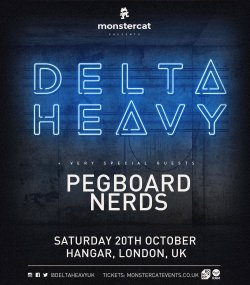 Monstercat presents DELTA HEAVY Logo