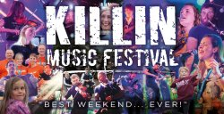 Killin Music Festival 2019 Logo