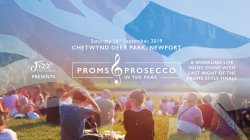 Proms & Prosecco in the Park at Chetwynd Deer Park logo