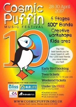 COSMIC PUFFIN 10  logo