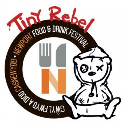 Tiny Rebel Newport Food And Drink Festival logo