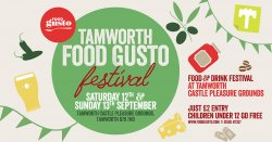 Tamworth Food Gusto Festival 2020 logo