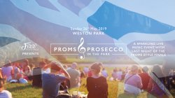 Proms & Prosecco in the Park at Weston Park logo