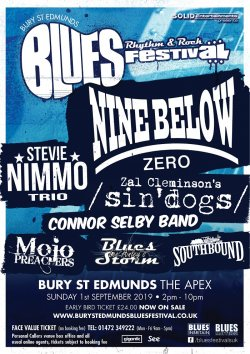Bury St Edmunds Blues, Rhythm & Rock Festival  logo