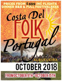 Costa Del Folk Portugal 2018 logo
