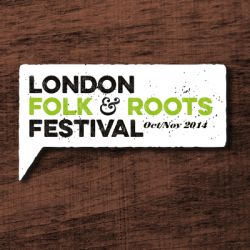 The London Folk and Roots Festival logo