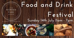 Merton Food and Drink Festival  Logo