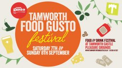 Tamworth Food Gusto Food & Drink Festival Logo