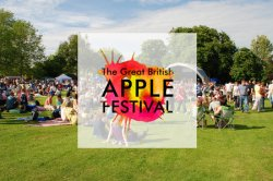 The Great British Apple Festival: Live Music, Food and Drink logo