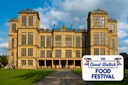 The Great British Food Festival at Hardwick Hall Logo