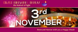 Brent, Harrow and greater London Diwali celebration Logo