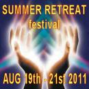 The SUMMER RETREAT FESTIVAL Logo